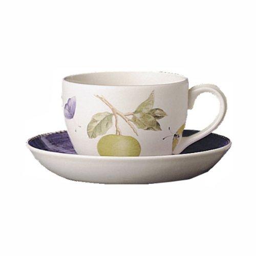 Sarahs Garden Wedgwood Tea Saucer Blue