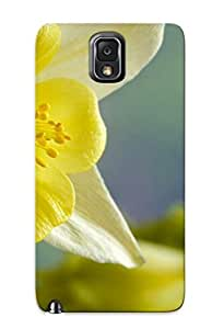 Exultantor Protection Case For Galaxy Note 3 / Case Cover For Christmas Day Gift(yellow Flower In The Foreground )