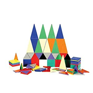 Magna-Tiles®, Magnetic 100 PC Solid Colors Set - Item #02300