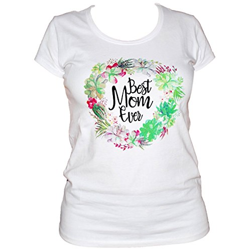 UB Womens Best Mom Ever Mothers Day Shirt