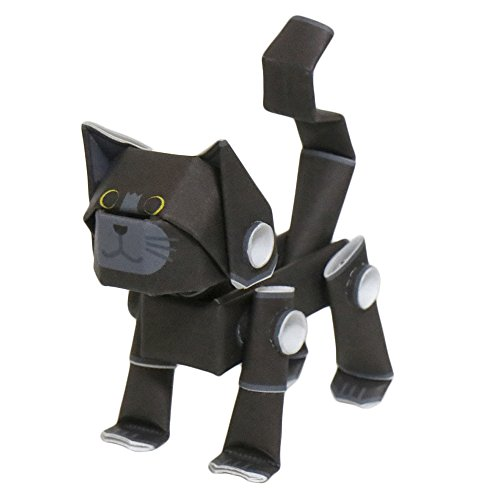 PIPEROID Animals Cats Black Cat - Paper Craft kit from Japan