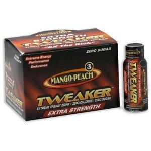 - 24 Tweaker Extreme Energy Drinks - Extra Strenth - Mango-peach 24/2oz