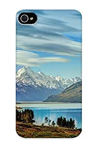 Hot Snap-on South Island New Zealand Hard Cover Case/ Protective Case For Iphone 4/4s