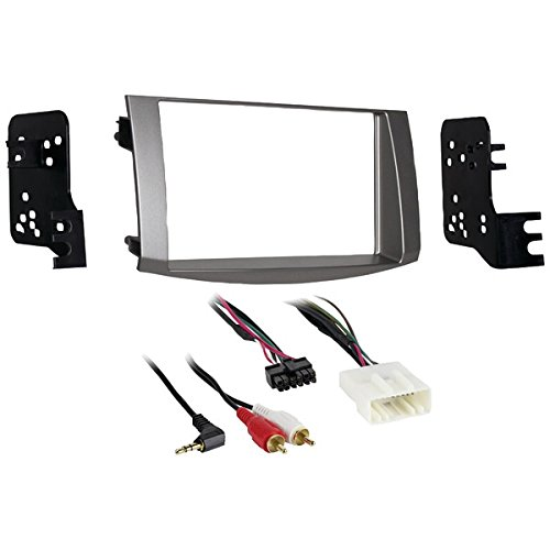 METRA 95-8215S 2005-2010 Toyota(R) Avalon Double-DIN Installation Kit, Silver PET2