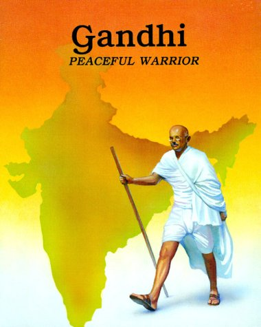 Gandhi : Peaceful Warrior (Easy Biographies)