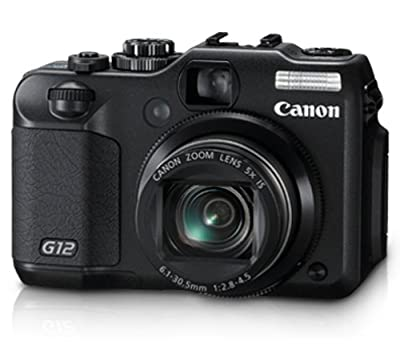Canon G12 10 MP Digital Camera with 5x Optical Image Stabilized Zoom and 2.8 Inch Vari-Angle LCD OLD MODEL