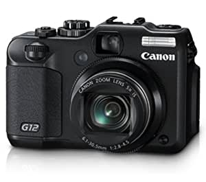 Canon G12 10 MP Digital Camera with 5x Optical Image Stabilized Zoom and 2.8 Inch Vari-Angle LCD