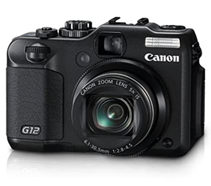amazon com canon g12 10 mp digital camera with 5x optical image rh amazon com Canon G10 Canon G10