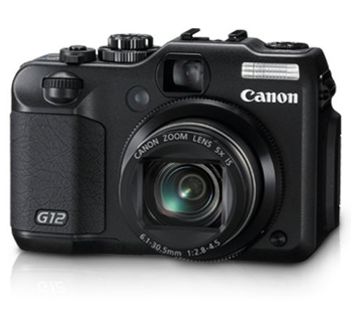Canon G12 10 MP Digital Camera with 5x Optical Image Stabilized Zoom and 2.8 Inch Vari-Angle LCD (Canon G15 Camera)