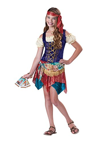 Gypsys Spell Tween Costume - Small - Gypsy Costumes For Tweens