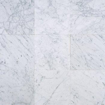 honed marble carrara floor tile hexagon white backsplash fireplace