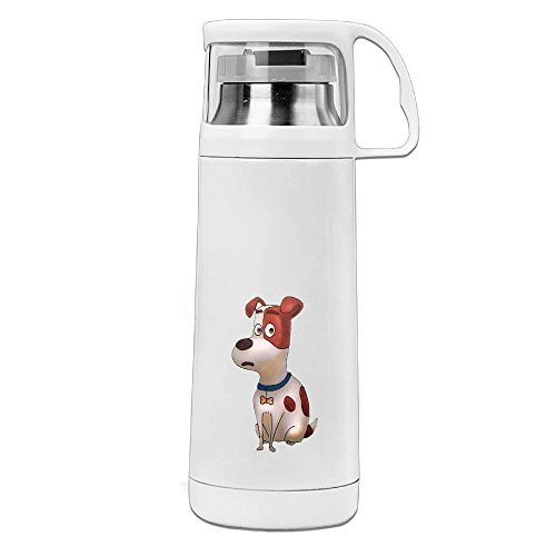 POY-SAIN The Secret Life Of The Dog Funny Sport Water Bottle With Handle Vacuum Cup