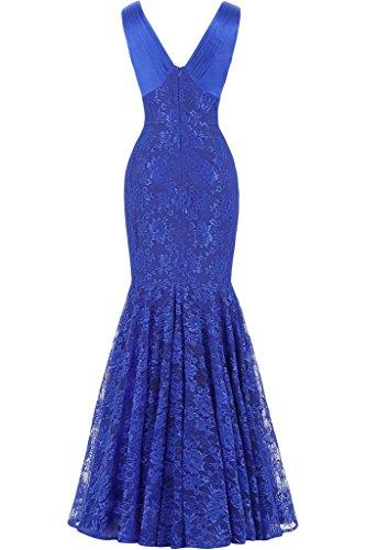 Royal Blu Donna BRAUT Vestito TOSKANA xn8wHYIpY