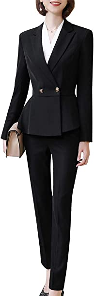 Amazon.com: Conjunto elegante de 2 piezas para mujer de ...