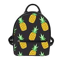 Freewander PU Leather Backpack Cute Shoulder Bag Casual Daypack for Traveling
