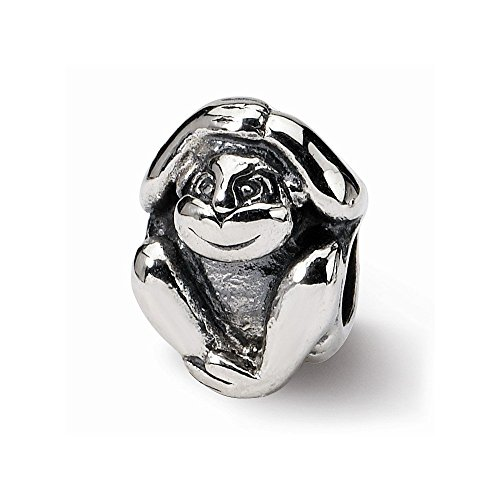 Sterling Silver Reflections Monkey - 8