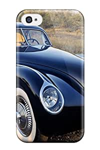 Ultra Slim Fit Hard CaseyKBrown Case Cover Specially Made For Iphone 4/4s- Jaguar