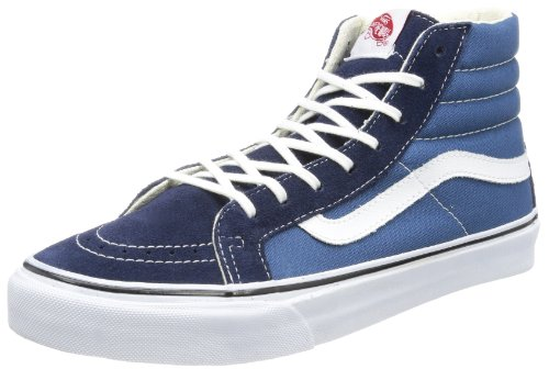 Vans Sk8-Hi Slim Sneakers Navy/True White Womens