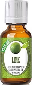 Lime (30ml) 100% Pure, Best Therapeutic Grade Essential Oil - 30ml / 1 (oz) Ounces