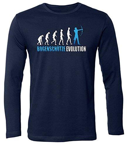 BOGENSCHÜTZE EVOLUTION 573(HL-N-Weiss-Blau) Gr. XL