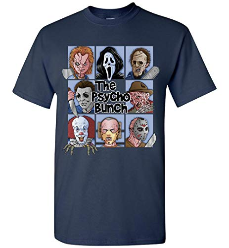 TSHIRTAMAZING The Psycho Bunch Halloween T-Shirt Adult and Youth Size ()