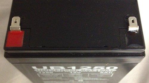 SH 4.5-12 Universal Power Group 12V 5Ah UPS Battery Replaces 4.5ah BB Battery SH4.5-12