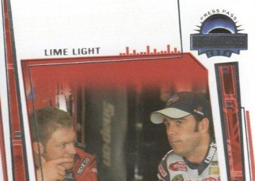 2004 Press Pass Eclipse NASCAR Racing #78 Dale Earnhardt Jr./Jimmie Johnson Lime Light