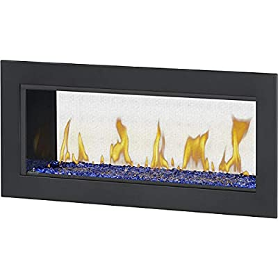 Napoleon Vector 38 See Thru Built-in Direct Vent Natural Gas Fireplace W/Electronic Ignition - LV38N2-1