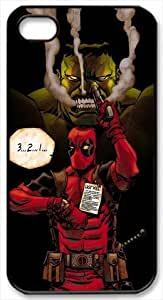 Hulk And Deadpool iPhone 4/4S Case Cover, Anime/Comics Series iPhone 4/4S Case By Bestonesell