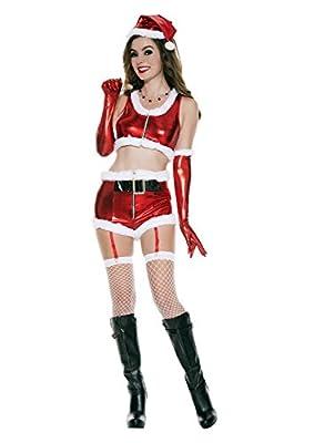Music Legs Women's Hot Santa Babe
