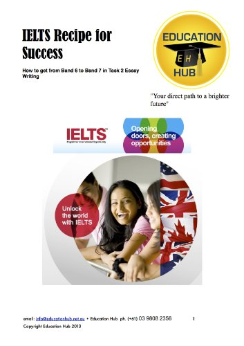 Download IELTS Recipe for Success: How to get from Band 6 to Band 7 in Task 2 Essay Writing Pdf