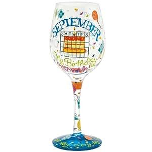 Lolita Love My Birthday Month Wine Glass, September