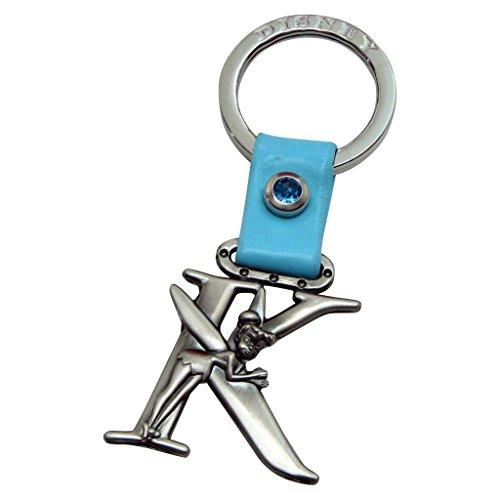 (Tinker Bell Letter K Pewter Key Chain)