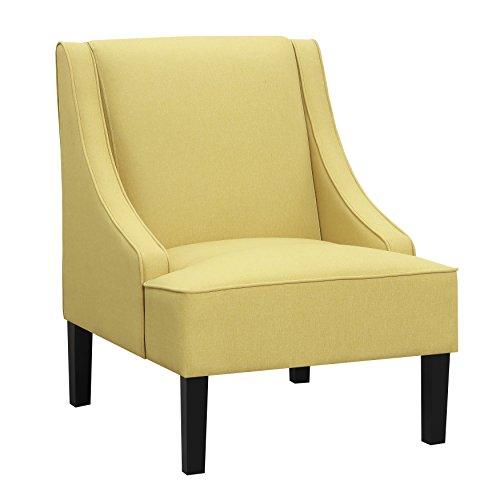 - Ravenna Home Eddison Modern Slope Accent Chair, 32