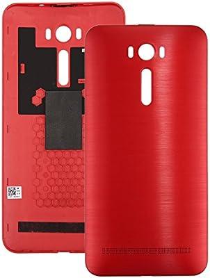 YANCAI Repuestos para Smartphone Cepillado Textura de la contraportada de la batería for ASUS Zenfone 2 Láser / ZE601KL (Gris) Flex Cable (Color : Red): Amazon.es: Electrónica