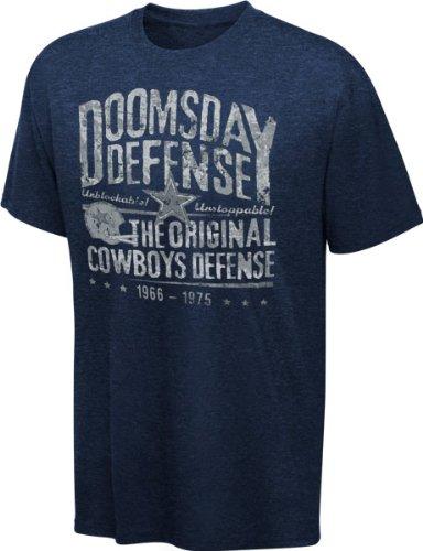 Amazon.com   Dallas Cowboys Navy Heathered Apache Tri-Blend T-shirt ... 8c8af8004