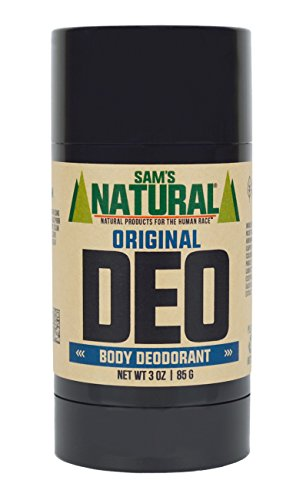 Price comparison product image Sam's Natural Deodorant/Deoderant - Original 3 oz - Natural - Vegan and Cruelty Free - America's Favorite
