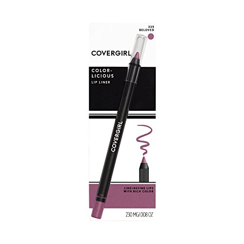COVERGIRL Colorlicious Lip Perfection Lip Liner Beloved 225, .04 oz (packaging may vary)