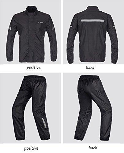 Per giacca Esterno Tuta Pioggia Gli Riutilizzabili Mens E Pantaloni Antipioggia B Indumenti Impermeabili Da Antipioggia Impermeabile Giacche Motociclisti ngPqxI4W