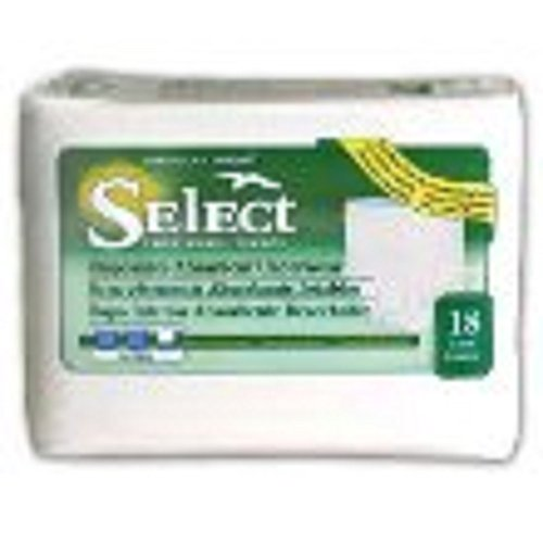 Units Per Case 72 Select Disposable Absorbent Underwear Capacity 19 fl oz Waist 44 - 54