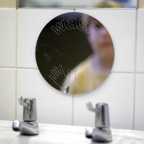 Reinigung Hände Spiegel - Früh Jahre Spiegel