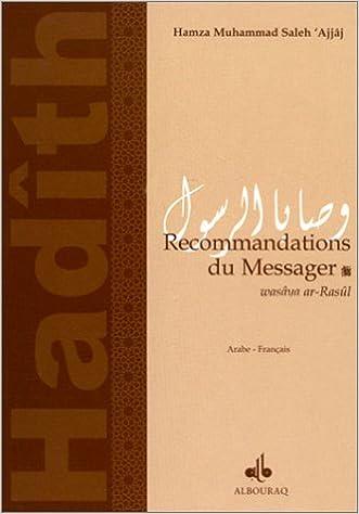 Livre gratuits en ligne Recommandations du messager (bilingue français-arabe) epub, pdf
