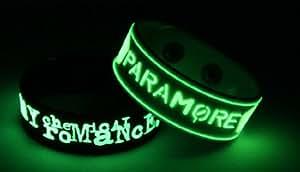 My Chemical Romance Paramore Brillan En La Oscuridad pulsera M7P7