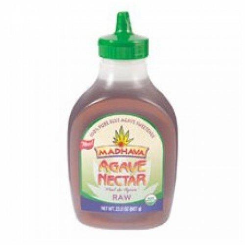 Madhava Pure Agave Nectar, Raw (6x23.5 OZ)