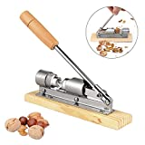 Pecan Nut Cracker Opener Walnut Sheller-Vovomay Gadget Heavy Duty Home Kitchen Tool New (As show)