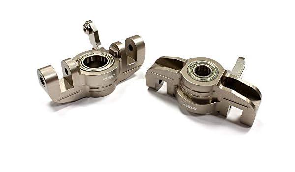 C26509PURPLE Integy Machined Steering Blocks for Traxxas LaTrax Teton 1//18