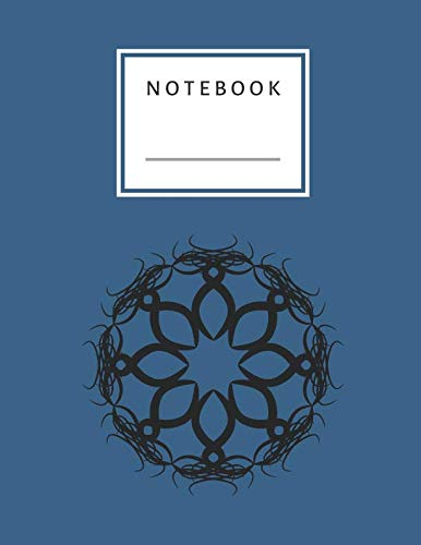 Notebook: Star Circle Symbol Notebook Lined and Numbered 120 Pages Witch Lines Letter Size 8.5 x 11 - A4 Size (Journal, Notes, Notebook, Diary, Composition Book) Soft Cover (A Perfect Symbol Circle)