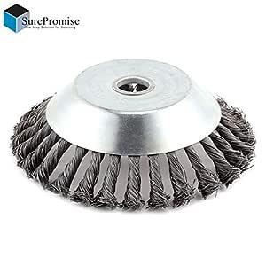 Cepillo redondo para desbrozadora de 200 x 25,4 mm