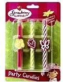 6 pc Strawberry Shortcake Birthday Cake Candles