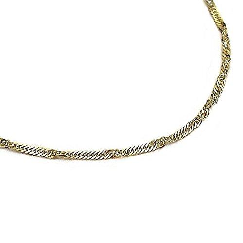 Bracelet chaîne en or 18k [52]